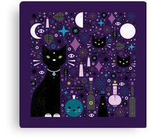 Halloween Kittens  Canvas Print