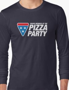 PIZZA PARTY Long Sleeve T-Shirt