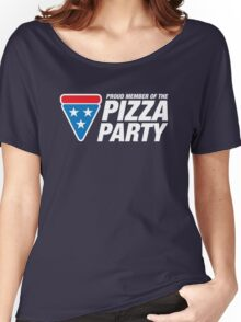 PIZZA PARTY Women's Relaxed Fit T-Shirt