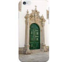 Capela das Malheiras side door iPhone Case/Skin