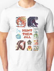 MONSTER HUNTER 4 - HUNT THEM ALL Unisex T-Shirt