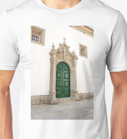 Capela das Malheiras side door Unisex T-Shirt