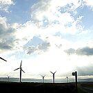 Misty Windmills by Rusty  Gladdish