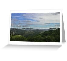 California Country Greeting Card