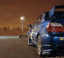 Subaru at night by elvis2