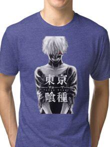 TOKYO GHOUL - KEN KANEKI Tri-blend T-Shirt