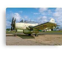 Fairey Gannet AEW.3 XL502 G-BMYP at Biggin Hill Canvas Print