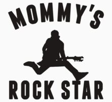 Mommy's Rock Star Baby Tee