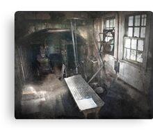 The Morgue of Alcatraz Canvas Print