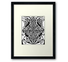 Cross-Evolution Framed Print