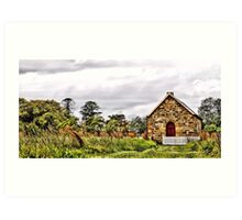 Tomago Church II Art Print