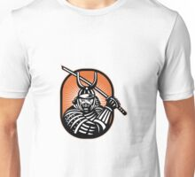 Japanese Samurai Warrior Sword Retro Unisex T-Shirt