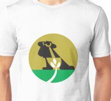 Gardener Landscaper With Shovel Digging Plant Unisex T-Shirt