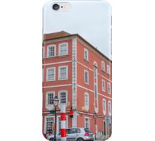 The pink building iPhone Case/Skin