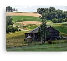 Drive by barn Canvas Print