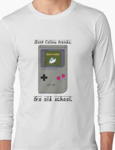 Old School Gameboy. Long Sleeve T-Shirt