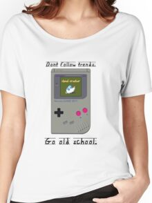 Old School Gameboy. Women's Relaxed Fit T-Shirt