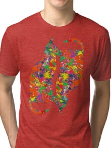 Double Cat Tri-blend T-Shirt