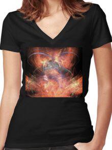 Thrones Women's Fitted V-Neck T-Shirt