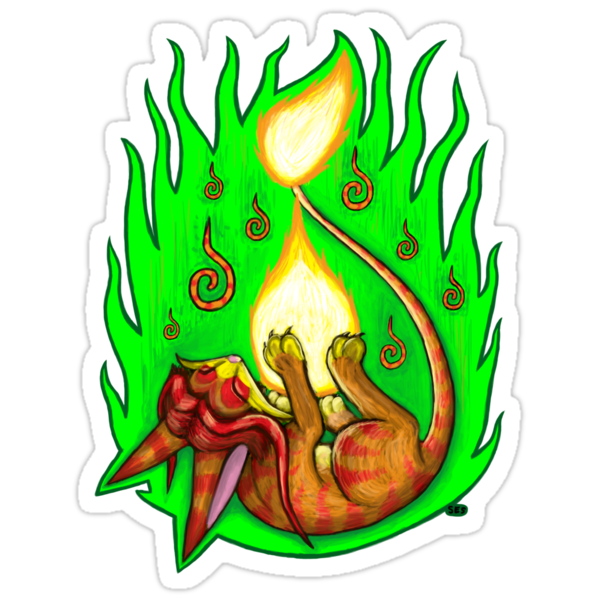 Pyrofeline - Playing with Fire by Sarah Solomon