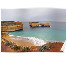 London Bridge. Port Campbell National Park, Victoria, Australia. Poster