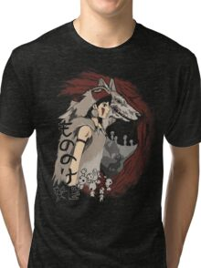 Keepers of the forest mononoke Tri-blend T-Shirt