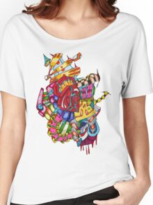 flying castle  Women's Relaxed Fit T-Shirt