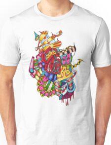 flying castle  Unisex T-Shirt