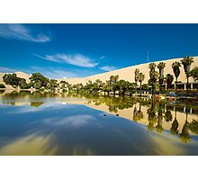 Reflections of the Oasis Photographic Print