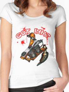 Got Ink? Women's Fitted Scoop T-Shirt