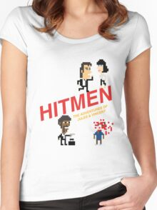 Hitmen: The Adventures of Jules and Vincent Women's Fitted Scoop T-Shirt
