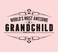 World's Most Awesome Grandchild Kids Tee