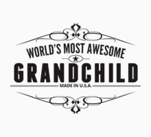 World's Most Awesome Grandchild Kids Clothes