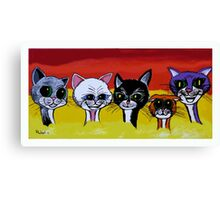 THE SPICE CATS Canvas Print