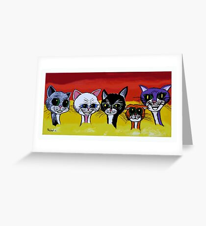 THE SPICE CATS Greeting Card