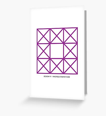 Design 111 Greeting Card