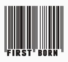 First Born Barcode Kids Tee