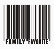 Family Favorite Barcode Kids Clothes