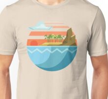 Polygon Beach Unisex T-Shirt
