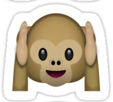 Three wise monkeys whatsapp emoji Sticker
