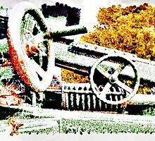 The Wheels of War Keep on Turning by PictureNZ