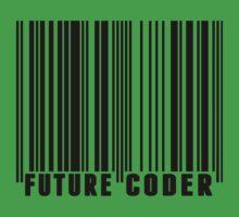 Future Coder Barcode Kids Tee