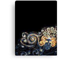 Van Gogh TARDIS Canvas Print
