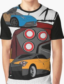 Pagani Huayra Graphic T-Shirt