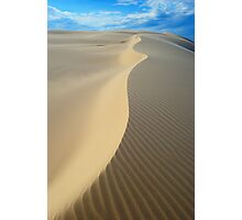 Sand Spine Photographic Print