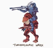 Turianosaurus Wrex Kids Clothes