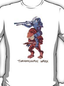 Turianosaurus Wrex T-Shirt