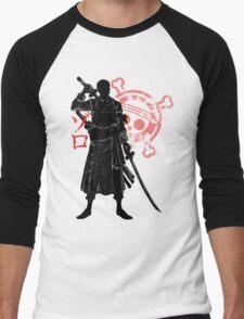 Pirate hunter Men's Baseball ¾ T-Shirt