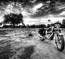 My Royal Enfield Classic by Deepak Varghese