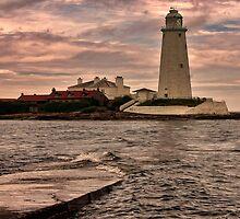 St Mary's Island by Trevor Kersley